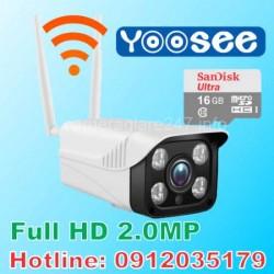 Camera wifi Yoosee ngoài trời FULL HD 2.0MP