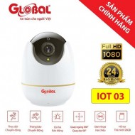 Camera IP wifi Global IOT03 Full HD 1080P + Kèm thẻ nhớ 32GB