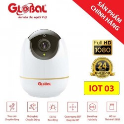 Camera IP wifi Global IOT03 Full HD 1080P + Kèm thẻ nhớ 32GB
