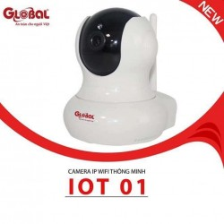 Camera IP wifi Global IOT01 HD 720P + Kèm thẻ nhớ 32GB