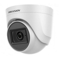 Camera Dome HD TVI Hikvision 5MP DS-2CE76H0T-ITPFS (tích hợp Micro)