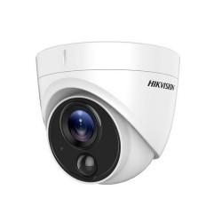 Camera dome HD TVI 2MP Hikvision DS-2CE71D8T-PIRL (chống ngược sáng - hỗ trợ đèn cảnh báo)
