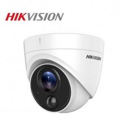 Camera dome HD TVI 2MP Hikvision DS-2CE71D0T-PIRLPO (hỗ trợ đèn cảnh báo)
