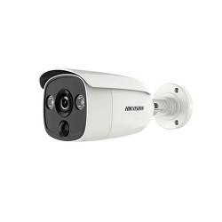 Camera HD TVI Hikvision 5MP DS-2CE12H0T-PIRLO (tích hợp đèn báo động)
