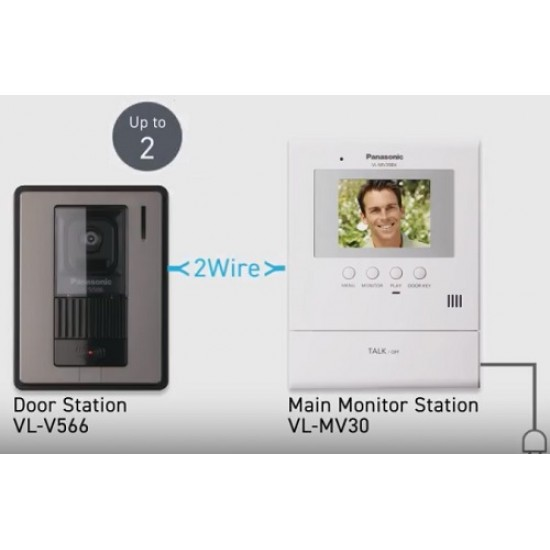 Chuông cửa có màn hình màu Panasonic VL-SV30VN