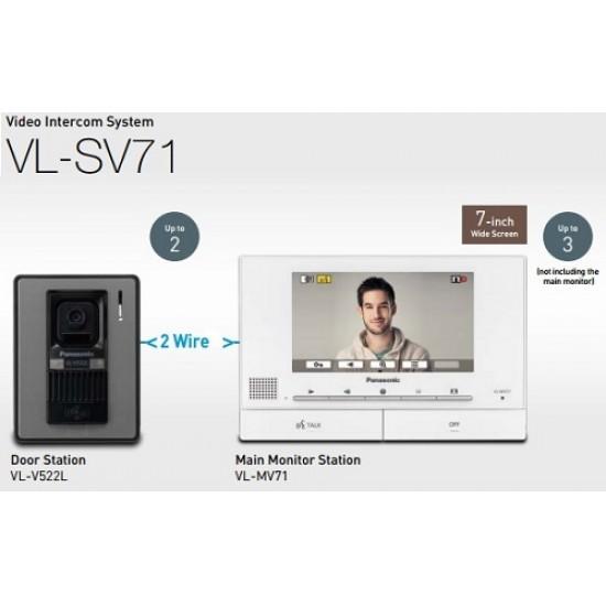 Chuông cửa có màn hình màu 7inch Panasonic VL-SV71VN