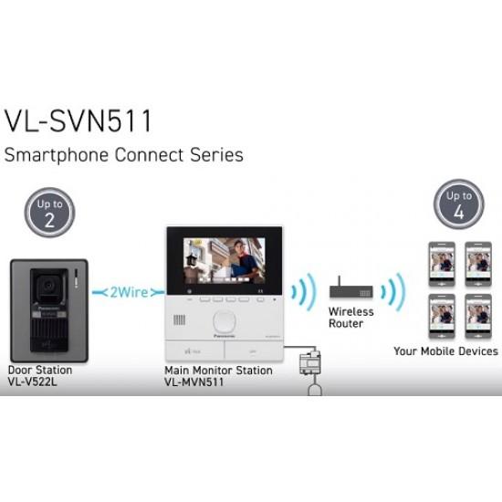 Chuông cửa có màn hình màu Panasonic VL-SVN511VN