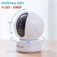 Camera ip wifi ezviz C6CN H.265 1080P new 2021 + Thẻ nhớ 32GB