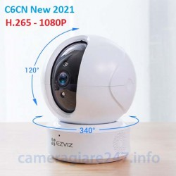 Camera ip wifi ezviz C6CN H.265 1080P new 2021 + Thẻ nhớ 32GB