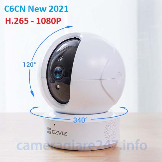 Camera ip wifi ezviz C6CN H.265 1080P new 2021