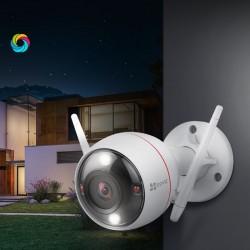 Camera ip wifi ezviz ngoài trời CV310 1080P night vision có màu ban đêm + thẻ nhớ hikvision 32GB