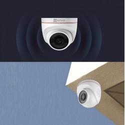 Camera ip wifi ezviz C4W 1080P tích hợp đèn chớp và còi báo động