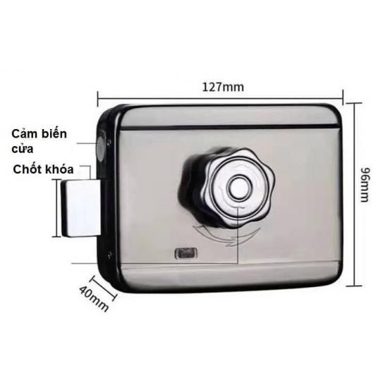 Khóa cửa vân tay VIRO VR-1200A dùng cho cửa cổng