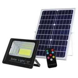 Đèn pha Led năng lương mặt trời NLMT-T-100