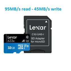 Thẻ nhớ 32GB micro SDHC 633X 95MB/45MB/s Lexar