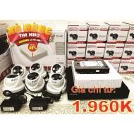 Lắp đặt trọn gói camera AHD 1.3MP giá rẻ nhất TP HCM
