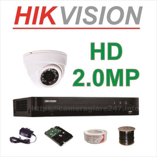 Lắp đặt trọn gói camera AHD 2.0MP